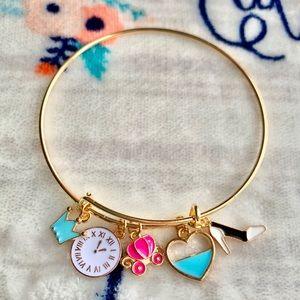 Jewelry - 👑 Cinderella Inspired Charm Bracelet 👑